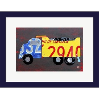 Design Turnpike 'Dump Truck' Framed Art