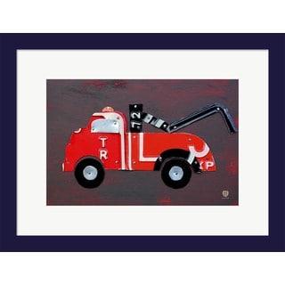 Design Turnpike 'Tow Truck' Framed Art