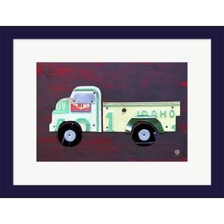Design Turnpike 'Pickup Truck' Framed Art