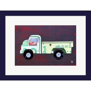 Design Turnpike 'Pickup Truck' Framed Art
