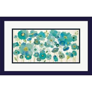 Silvia Vassileva 'Floral Lace' Framed Art
