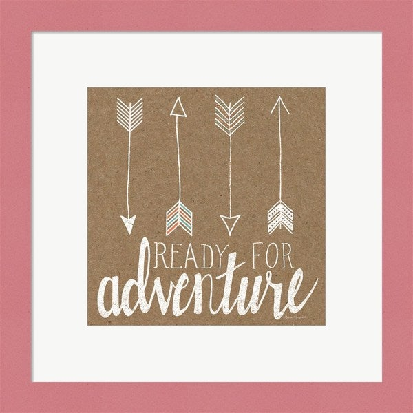 Laura Marshall 'Ready for Adventure' Framed Art