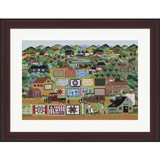 Anthony Kleem 'Quilts For Sale' Framed Art