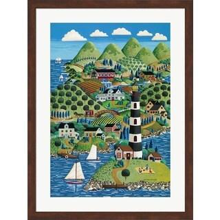 Anthony Kleem 'Lighthouse Island' Framed Art