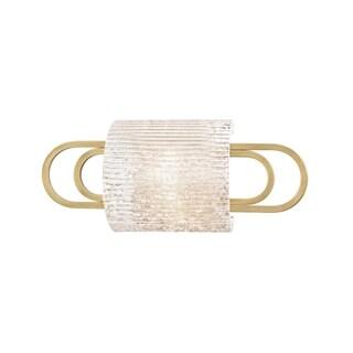 Hudson Valley Buckley 1-light Aged Brass Bath Bracket