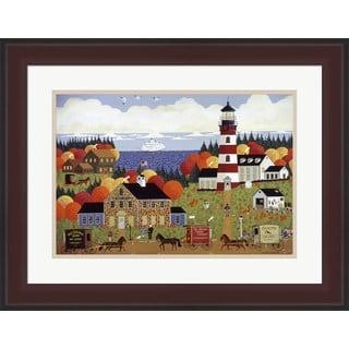 Anthony Kleem 'Nantucket Sentinel' Framed Art