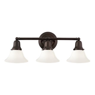 Hudson Valley Edison Collection 415 3-light Old Bronze Bath And Vanity