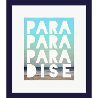 Leah Flores 'Paradise' Framed Art