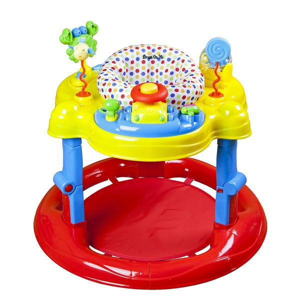 40e1c7c4c Shop Dream on Me Red Spin Musical Activity Center - Free Shipping ...