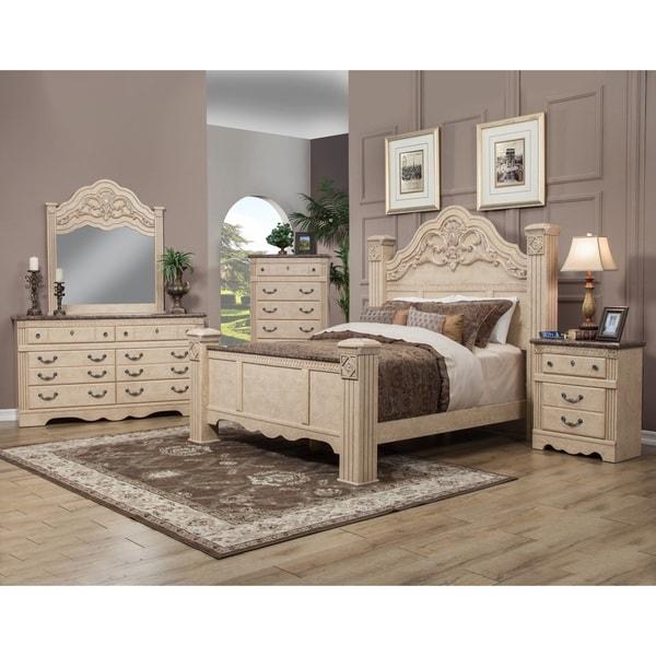 Shop sandberg furniture amalfi estate bedroom set free - Bedroom furniture set online shopping ...