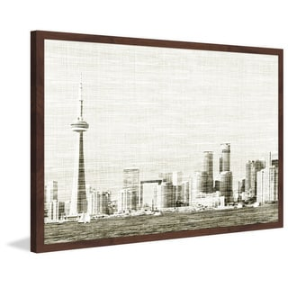Marmont Hill - 'Toronto Skyline' by Didi Framed Painting Print