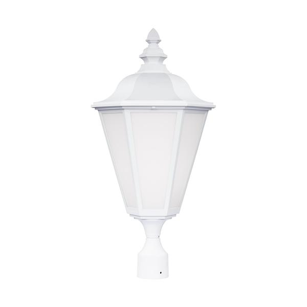 Sea Gull Lighting Reviews: Shop Sea Gull Brentwood 1 Light White Outdoor Fixture