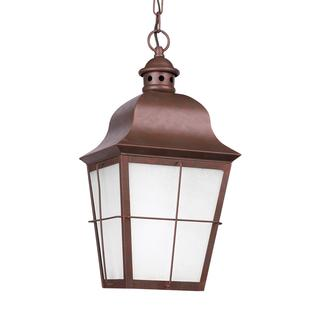 Sea Gull Chatham 1 Light Weathered Copper Outdoor Fixture