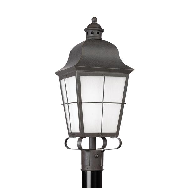 Sea Gull Chatham 1 Light Oxidized Bronze Outdoor Fixture