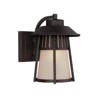 Sea Gull Hamilton Heights 1 Light Oxford Bronze Outdoor Fixture