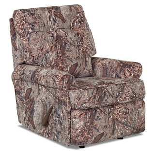 Klaussner Clearwater Camouflage Rocking Recliner Chair