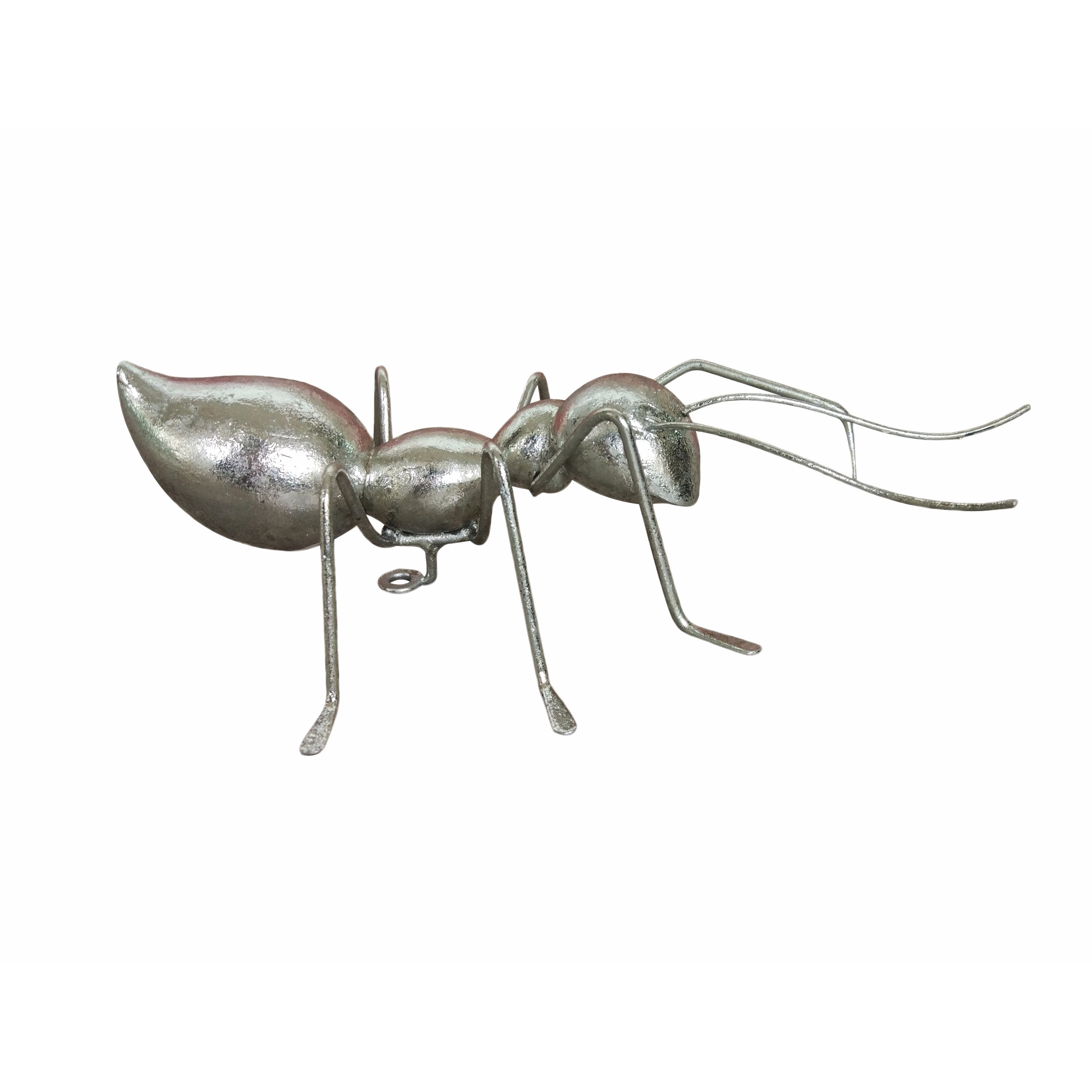 Aurelle Home Ant Small (Ant), Silver (Resin)