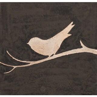 Aurelle Home Bird on a Branch I Art Wall Decor