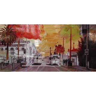 Aurelle Home San Francisco District City II Wall Decor