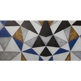 Aurelle Home Modern Triangles Deca Wall Decor