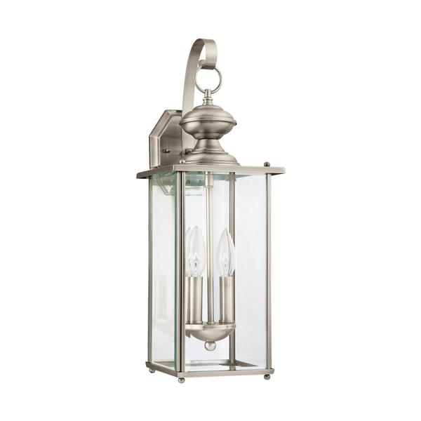 Sea Gull Jamestowne 2 Light Antique Brushed Nickel Outdoor Fixture Free Shipping Today 14354942