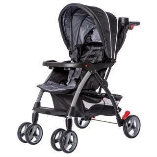 Dream On Me Grey Maldives Lightweight Stroller