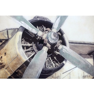 Classic Airplane Engine Propeller Wall Decor