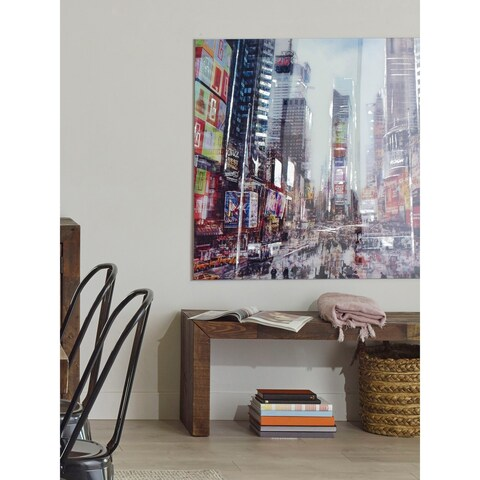Aurelle Home Manhattan Time Square Wall Decor