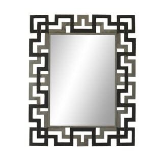 Aurelle Home Large Modern Metal Frame Mirror