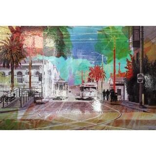 Aurelle Home San Francisco Summer in The City Canvas Wall Decor