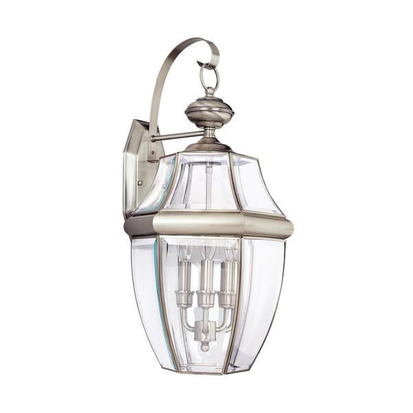 Sea Gull Lighting Reviews: Shop Sea Gull Lancaster 3 Light Antique Brushed Nickel