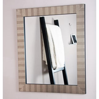 Trendy Silver Mix Vanity Wall Mirror