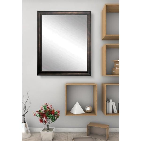 American Value Loft Design Vanity Wall Mirror - Bronze