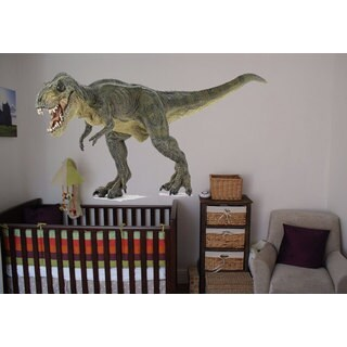 Full ColorT-Rex Full Color Decal, Dinosaur Full color sticker, wall art Sticker Decal size 48x65