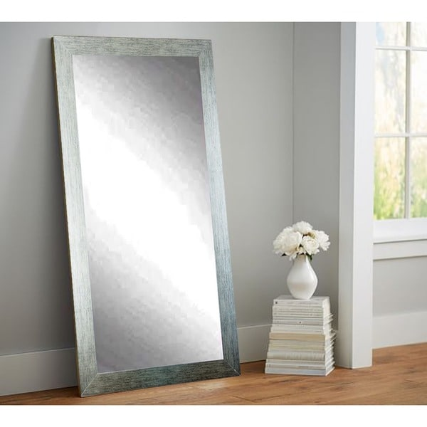 Shop Silver 32 X 65 5 Inch Tall Vanity Wall Mirror Free