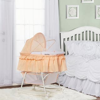 Dream on Me Coral Lacy Portable 2-in-1 Bassinet and Cradle|https://ak1.ostkcdn.com/images/products/14355221/P20931248.jpg?impolicy=medium