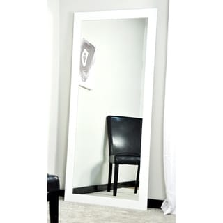 Vision in White 32 x 65.5 Tall Vanity Wall Mirror