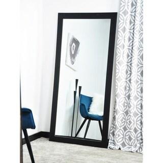 American Value Formal Black 32-inch x 65.5-inch Oversized Floor Mirror