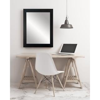 Multi Size Formal Black Wall Mirror