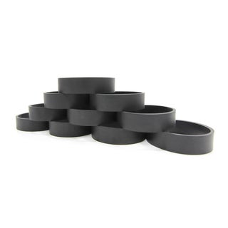 10 GV Belts Made to Fit Kirby Vacuum Cleaner Belts - Black
