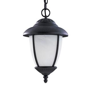 Sea Gull Yorktown 1 Light Black Outdoor Fixture