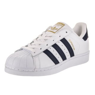 Adidas Men's Superstar Foundation Originals White Leather Basketball Shoes