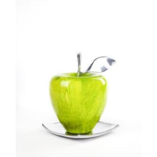Artesana Home WC Apple Green Medium on a Solo Plate