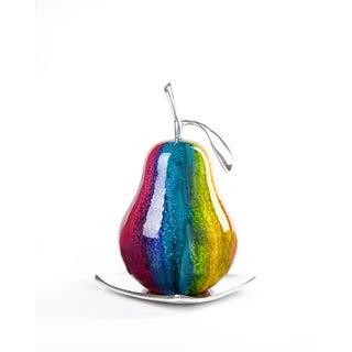 Artesana Home WC Pear Multicolor Medium on a Solo Plate