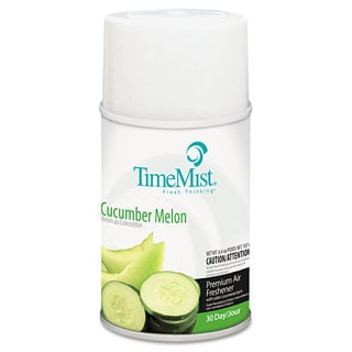 TimeMist Metered Fragrance Dispenser Refill Cucumber Melon 6.6oz Aerosol, 12/Carton