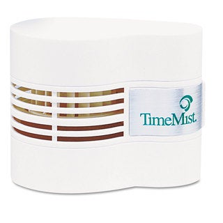 TimeMist Continuous Fan Fragrance Dispenser 4 1/2 x 3 x 3 3/4 White