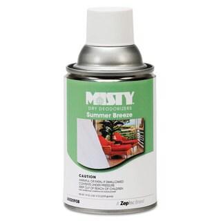 Misty Metered Dry Deodorizer Refills Summer Breeze 7oz Aerosol 12/Carton