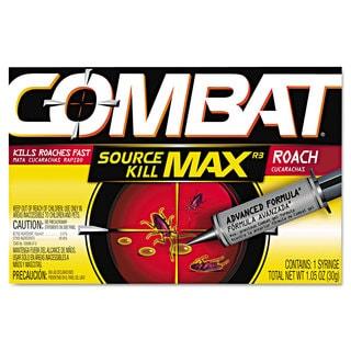 Combat Source Kill Max Roach Killing Gel 1.058-ounce Syringe 12/Carton