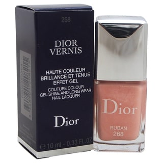 Dior Vernis Couture Colour Gel Shine and Long Wear Nail Lacquer 268 Ruban