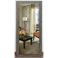 US Made Grey Beveled Full Body Mirror